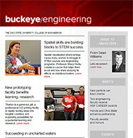 Buckeye Engineering issue 11 cover image