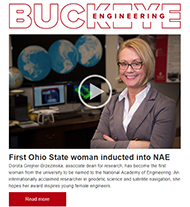 Cover of Buckeye Engineering, issue 25