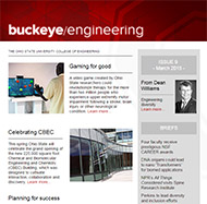 Buckeye Engineering issue 9 cover image