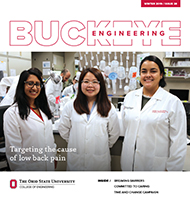 Cover of Buckeye Engineering, issue 28