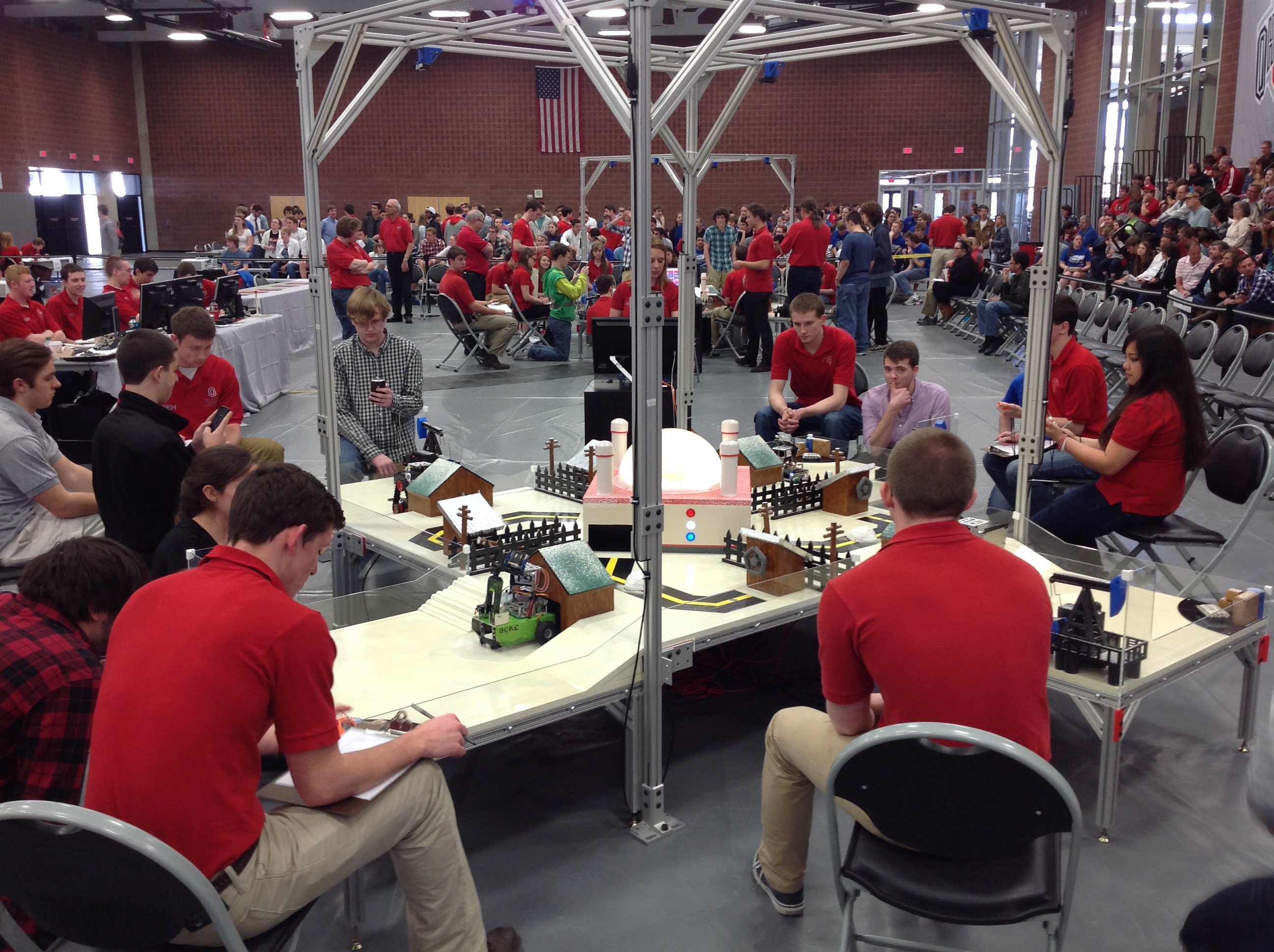 First Year Engineers Tested At Annual Robotics Competition College