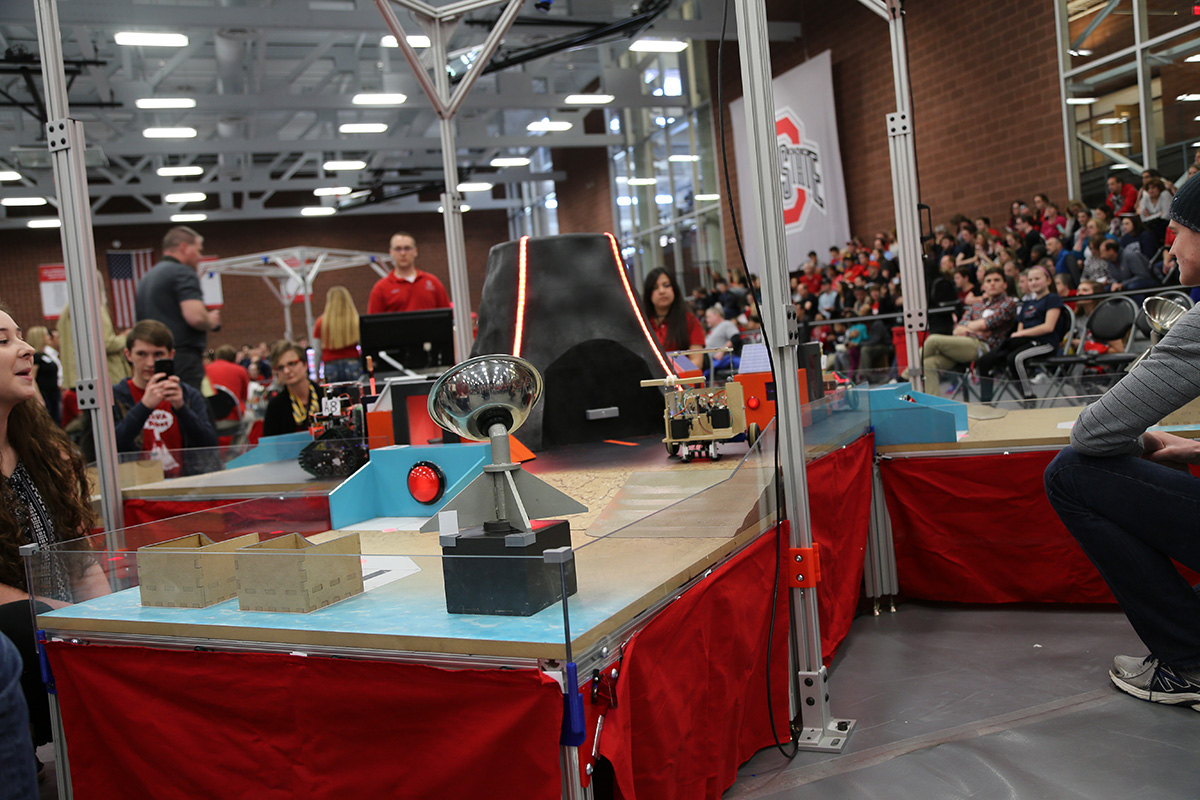 First Year Engineers Excel At 23rd Annual Robot