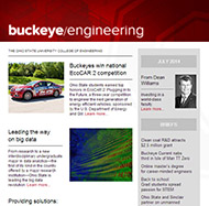 Buckeye engineering issue 6 cover